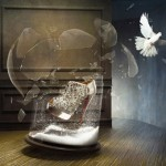 Christian Louboutin Fall Winter 2010 ad campaign Ice Queen