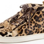 Christian Louboutin FW 2010 2011 sneakers leopard print