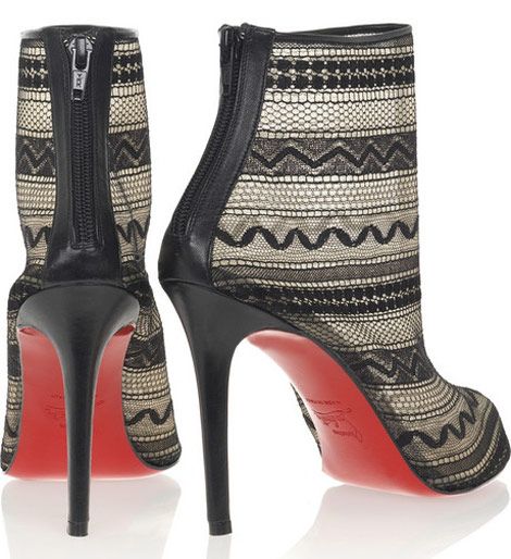 JLo&#8217;s Louboutins, The Christian Louboutin Paola 100 Ankle Boots