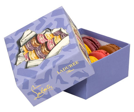 Christian Louboutin Laduree Macaroons gift box