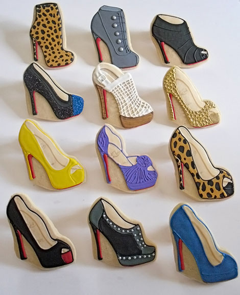 Christian Louboutin shoes collection cookies