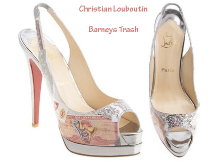 How About Christian Louboutin's Trash Shoes?