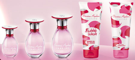 Christina Aguilera Inspire fragrance products