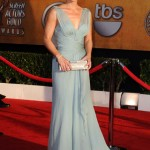 Christina Applegate blue dress 2010 SAG Awards