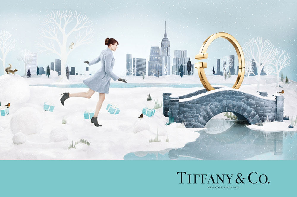 Christmas 2014 ad campaign Tiffany Co