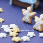 Christmas earrings cookies petitplat Stephanie Kilgast