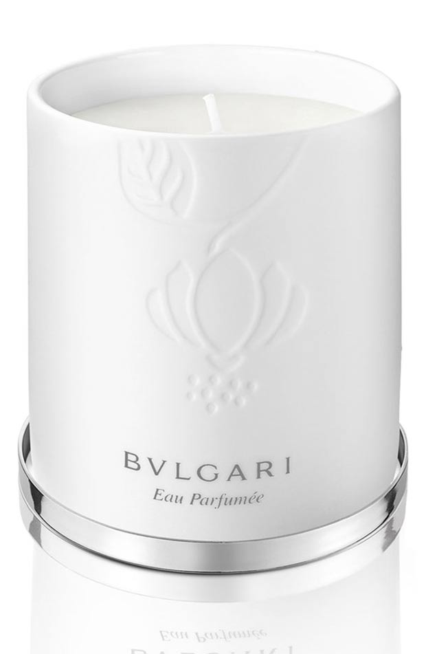 christmas gifts for fashionistas scented candle Bvlgari
