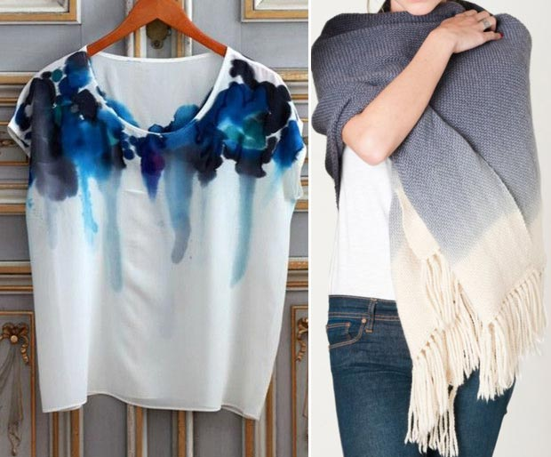 Christmas gifts for Hipsters Ombre Tshirt scarf