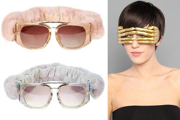 Christmas gifts for Hipsters unusual sunglasses Mia Farrow