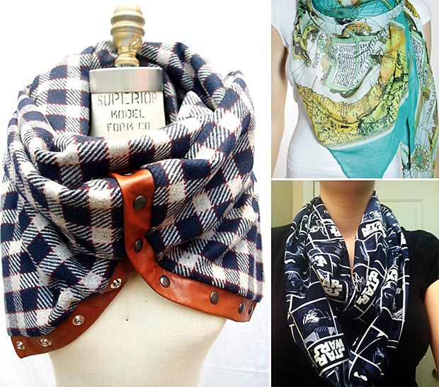Christmas gifts quirky scarf for hipsters