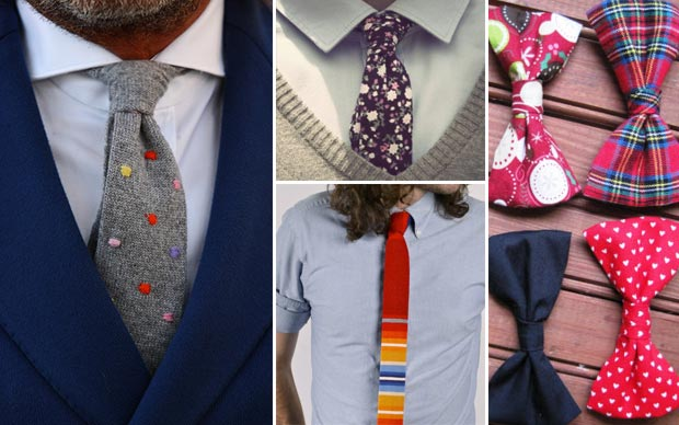 Christmas gifts quirky ties for Hipster men
