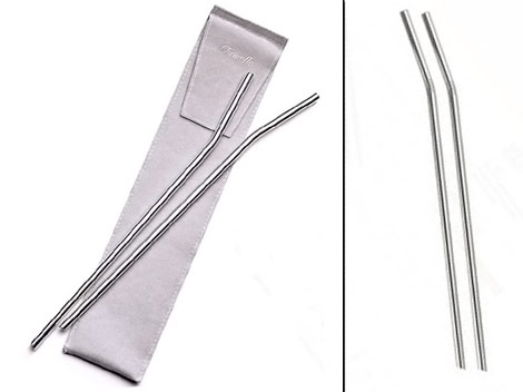 Christofle Silver Wine Straws
