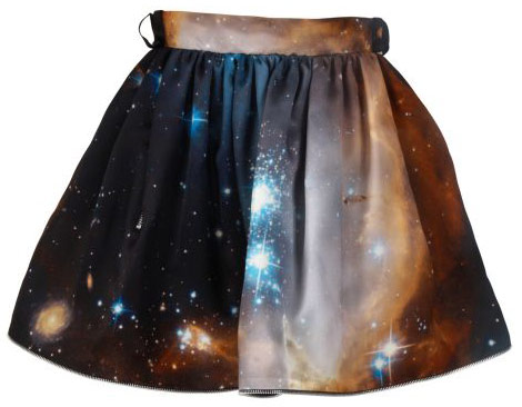 Christopher Kane stars skirt