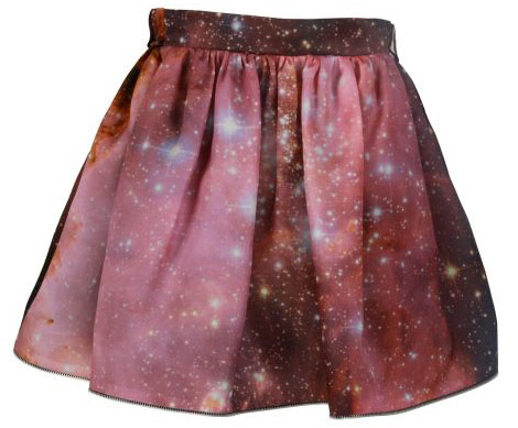Christopher Kane ss 2011 stars skirt