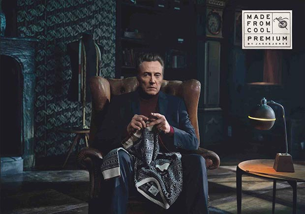 Christopher Walken Jack and Jones premium campaign