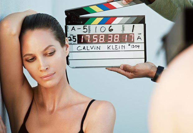christy turlington burns new calvin klein underwear ad campaign Christy Turlington For Calvin Klein Underwear