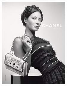 Christy Turlington for Chanel 2008 Ad Campaign