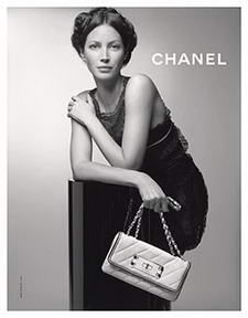 Christy Turlington for Chanel Summer 2008 Ad Campaign
