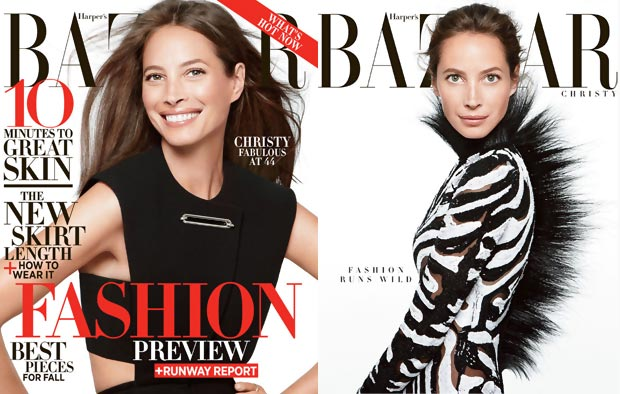christy turlington harpers bazaar june july 2013 covers Fashion At 44: Christy Turlington Flawless Harper's Bazaar June 2013