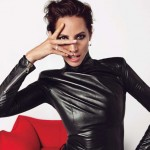 Christy Turlington leather Vogue Paris December 2012