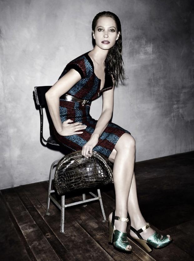 Christy Turlington Is Everywhere This Fall! Chanel, Jason Wu, Prada Ads