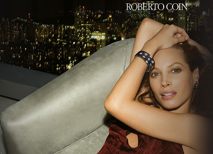 Christy Turlington for Roberto Coin Ad Campaign Fall Winter 2008 2009 1
