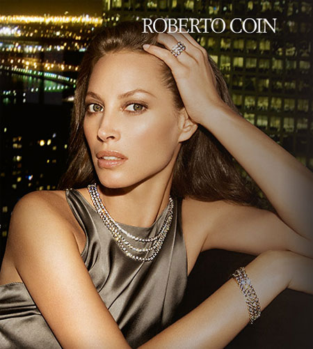 Christy Turlington For Roberto Coin Ad Campaign