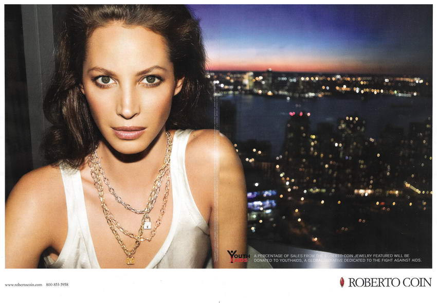 Christy Turlington for Roberto Coin Ad Campaign Fall Winter 2008 2009 4