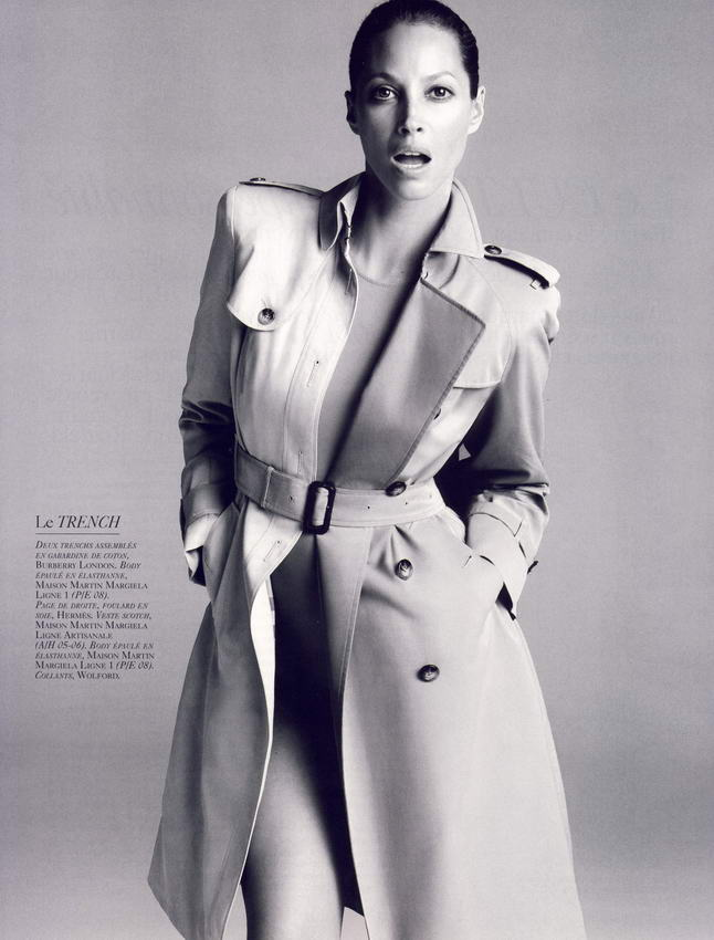 Christy Turlington Vogue French October 2008 02
