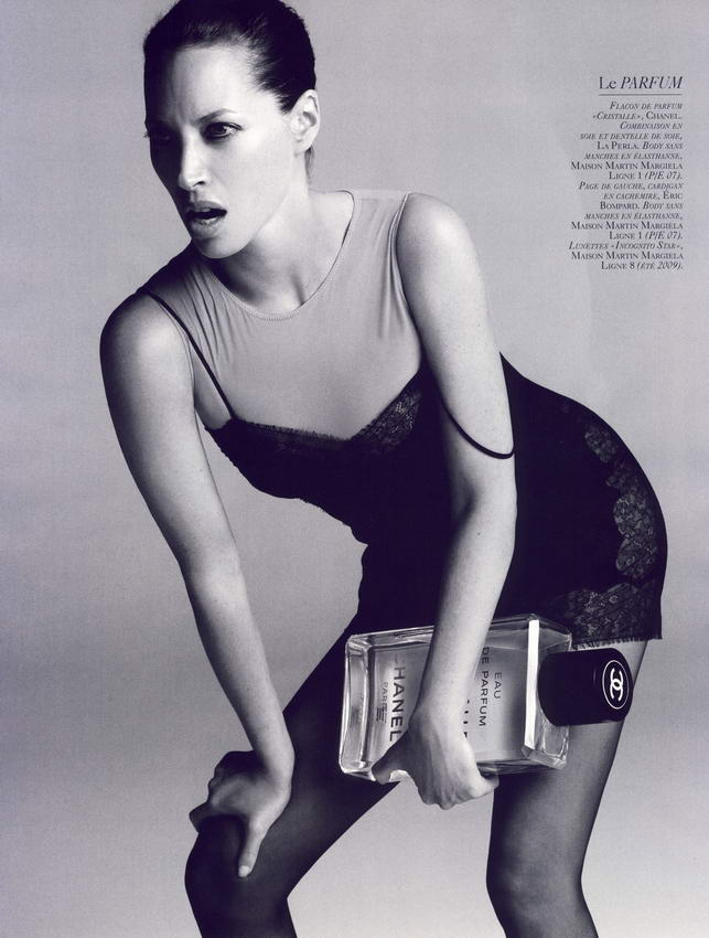 Christy Turlington Vogue French October 2008 07