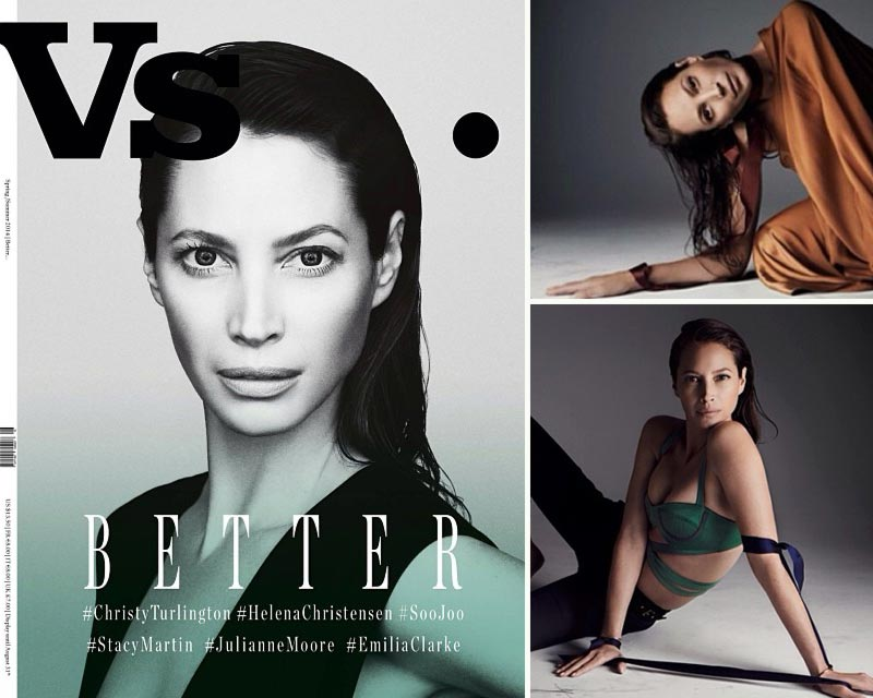 Christy Turlington Vs Magazine Spring 2014