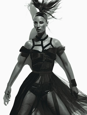 Christy Turlington W Magazine August 08