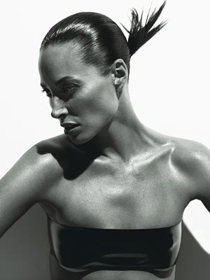 Christy Turlington W Magazine August
