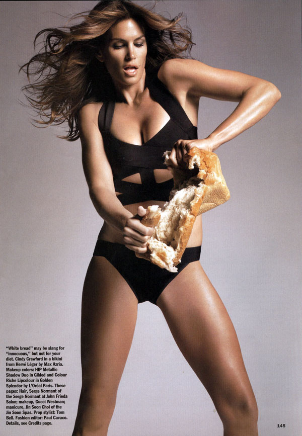 Cindy Crawford Allure Magazine April 09 3