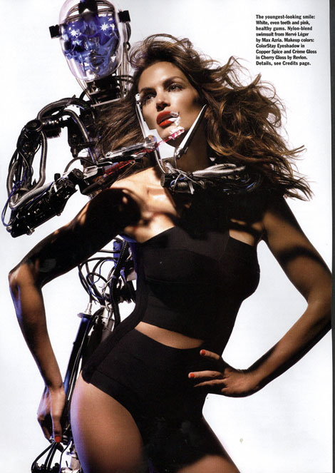 Cindy Crawford Allure Magazine April 09