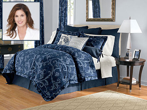 Cindy Crawford Bedding collection JC Penney