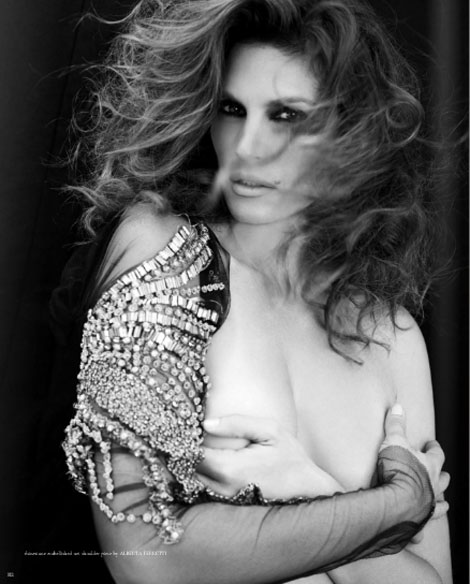 Cindy Crawford Bullett Magazine First Issue photo