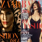 Cindy Crawford Harpers Bazaar March 2010 covers