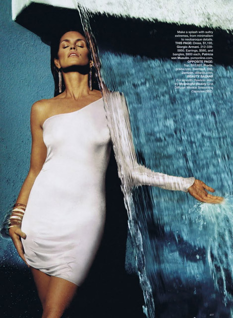 Cindy Crawford Harpers Bazaar US March 10