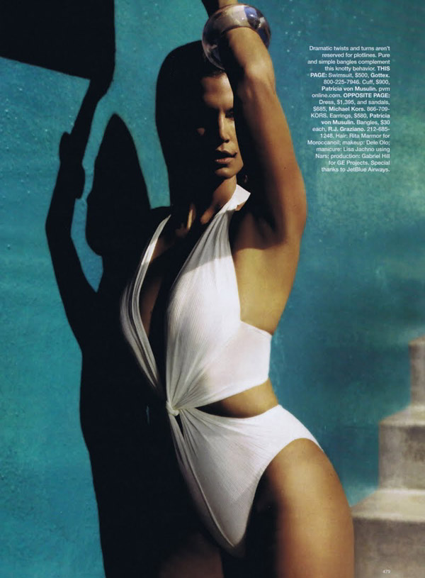 Cindy Crawford Harpers Bazaar US March 2010 2