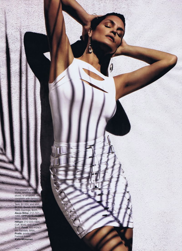 Cindy Crawford Harpers Bazaar US March 2010 4