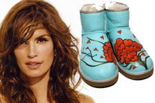 Cindy Crawford Ugg Boot