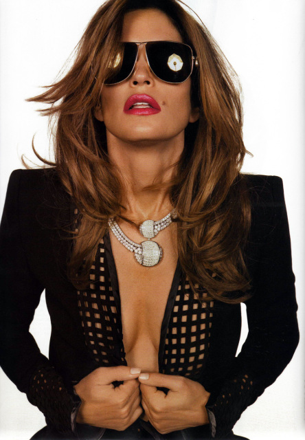 Cindy Crawford Vogue Paris November 2008