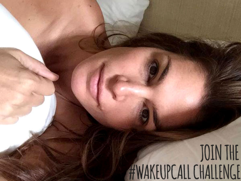 Cindy Crawford without makeup Wakeupcall