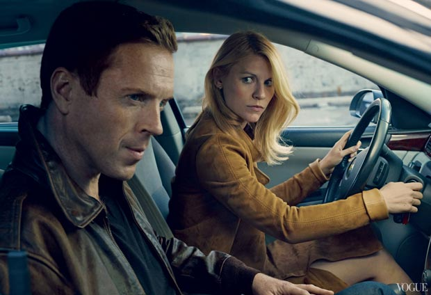 Claire Danes Damian Lewis Vogue US August 2013