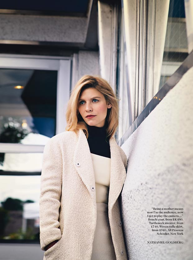 Claire Danes in Vogue UK