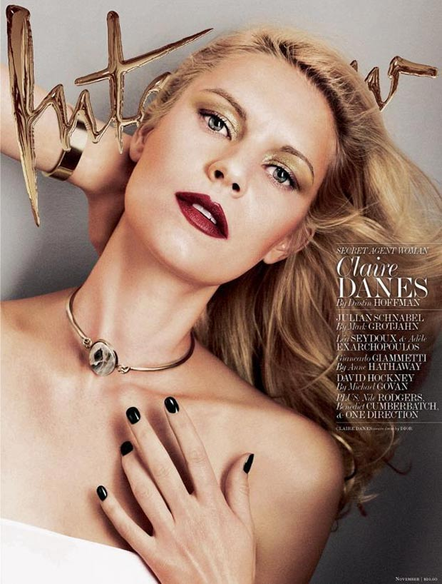 Claire Danes Interview November 2013 golden cover