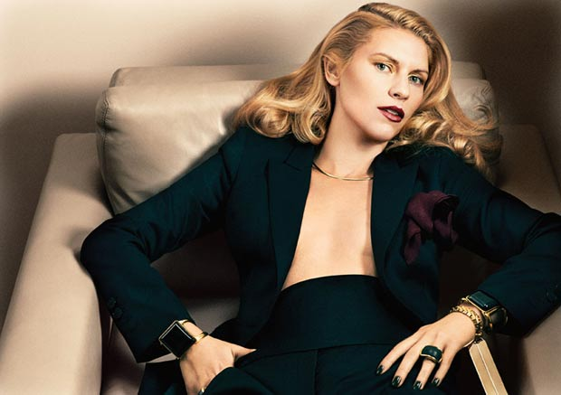 Claire Danes Interview November 2013 Stella suit
