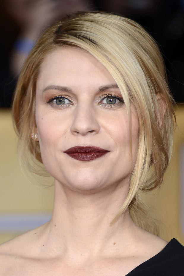 Claire Danesmakeup hair 2013 SAG Awards