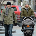 Claire Danes stroller NY